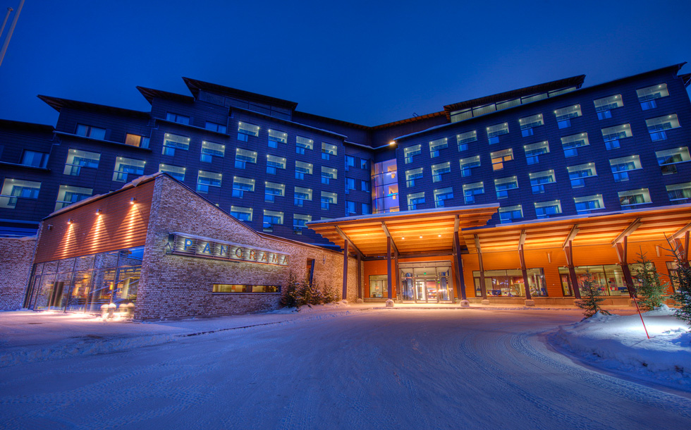 Energy in Time partner Caverion made visit to Levi Panorama hotel to survey possible additional energy meters