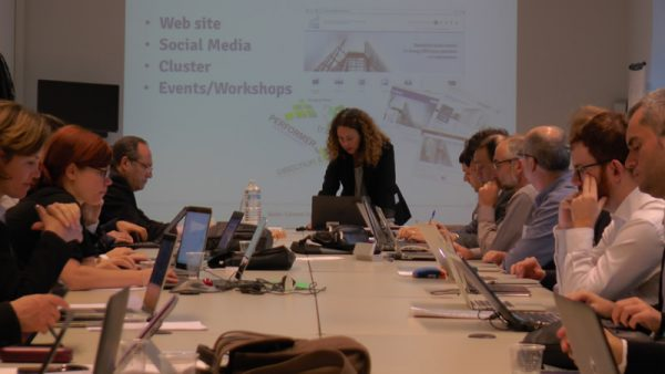 Second Period Review Meeting for Energy in Time in Brussels November, 10th